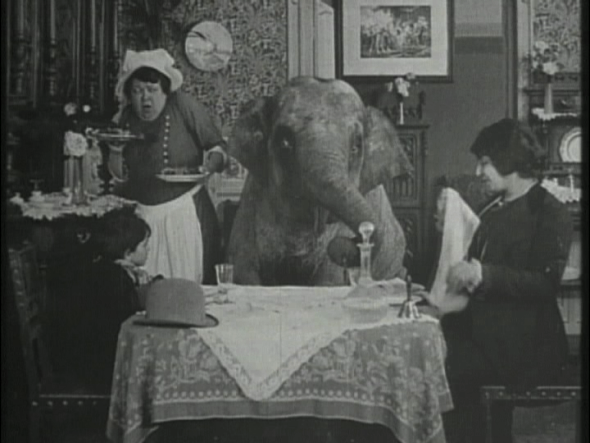 BOUT-DE-ZAN STEALS AN ELEPHANT by Louis Feuillade