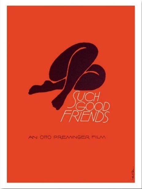 Such Good Friends film poster