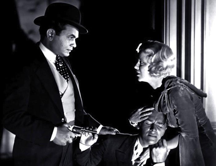 Edward G Robinson-Little-Caesar with Douglas Fairbanks jr. and Glenda Farrell