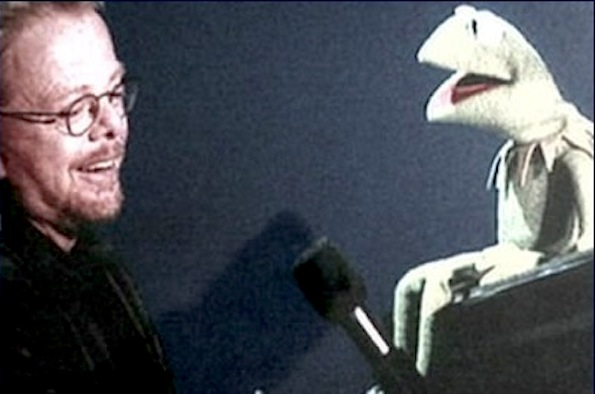 Paul and Kermit