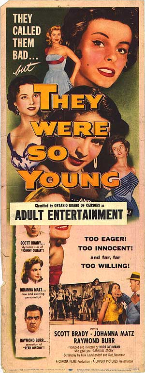 They Were So Young Film poster