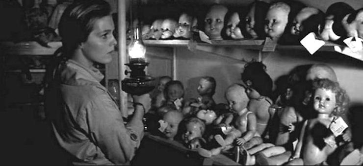Ann at the doll hospital