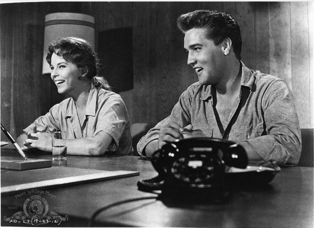 Ann Helm and Elvis in Follow That Dream
