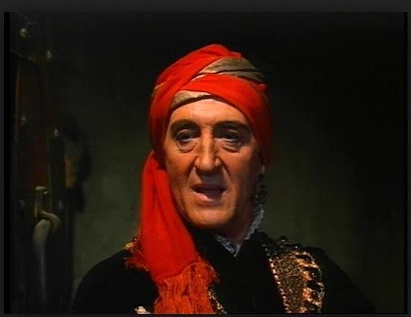 Basil Rathbone in The Magic Sword