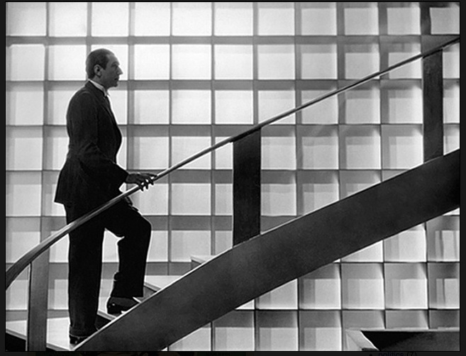 Bela climbs the stairs
