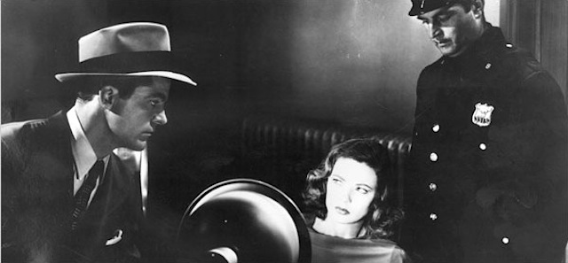 Dana Andrews and Gene Tierney in Premingers iconic noir Laura