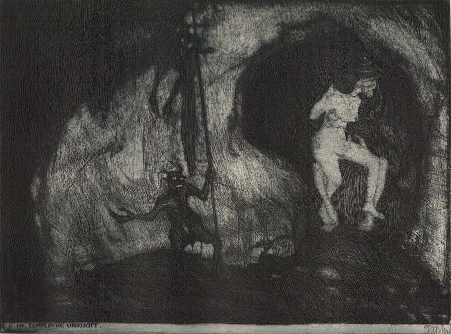 Stefan Eggeler-illustrations for Gustav Meyrink-Walpurgisnacht-(1922)