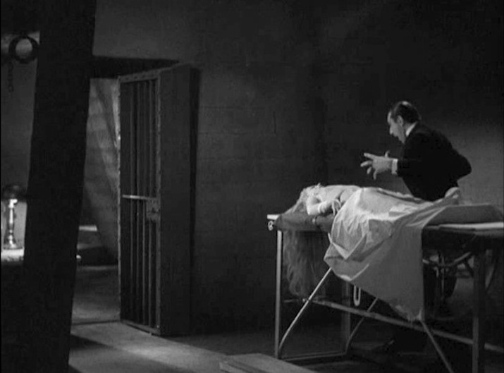 Vitus discovers his daughter Karen dead