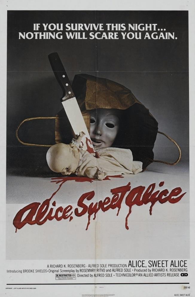 Alice Sweet Alice film poster