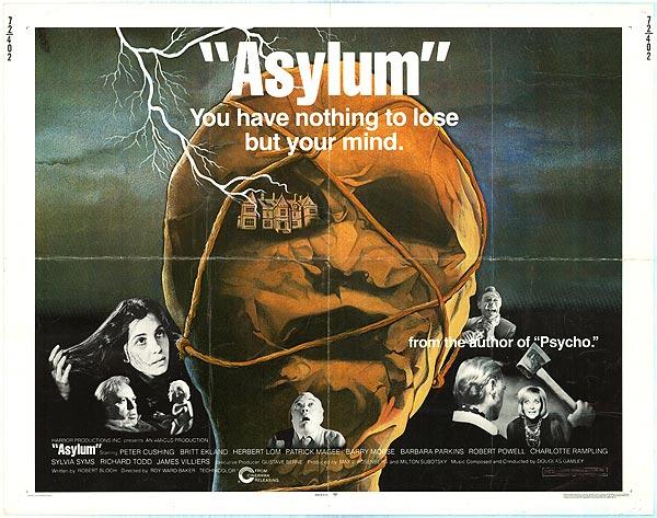 Asylum film poster