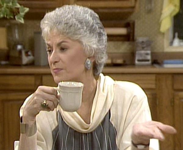 Bea Arthur as Dorothy Zbornak The Golden Girls