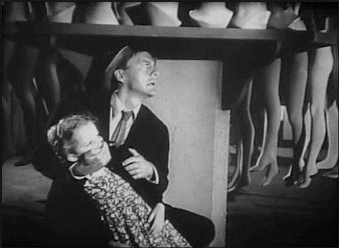 David Wayne in Jospeh Losey's version of M (1951