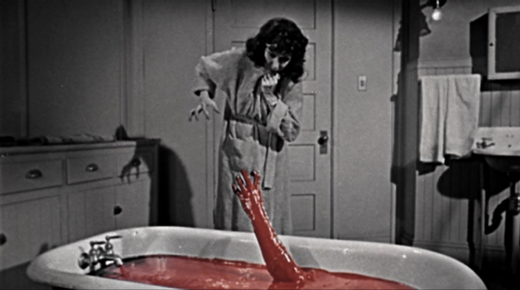 Judith Eveylin The Tingler Blood Bath