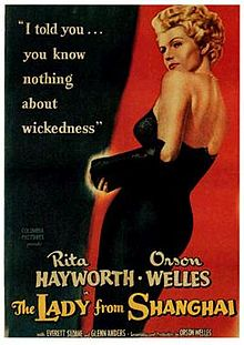 Lady From Shanghai poster