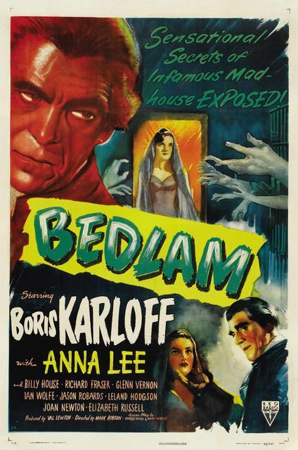 Bedlam film poster