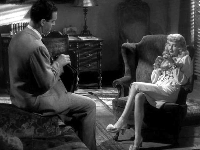 Stanwyck and MacMurray Double Indemnity
