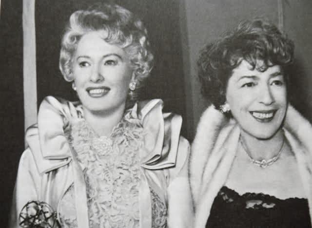 Barbara Stanwyck and HelenFerguson