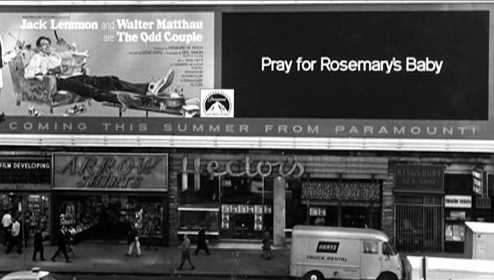 billboard for the film