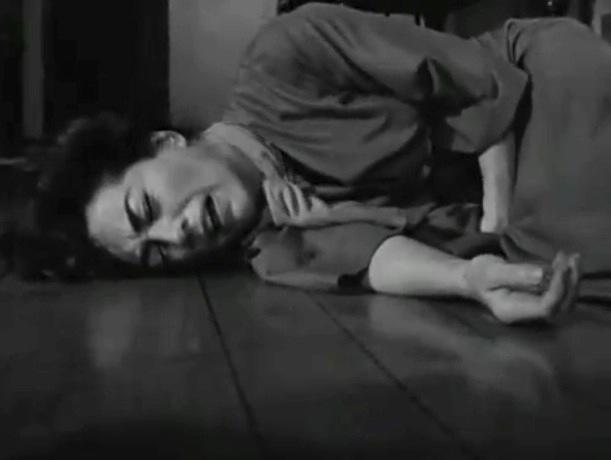 blannche on the floor