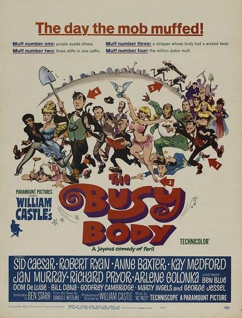 busy body film poster