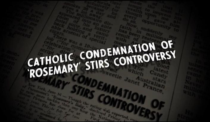Catholic Condemnation clip