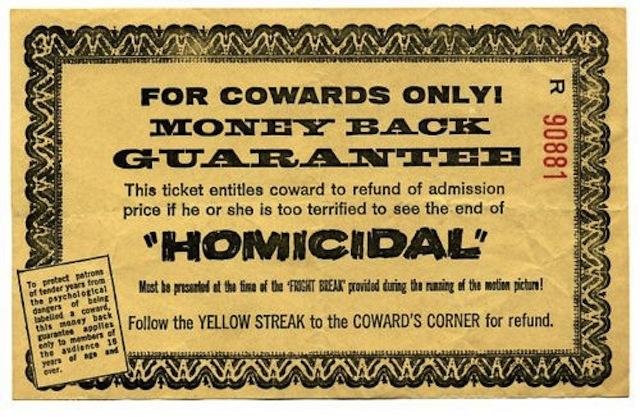 Cowards Corner ticket