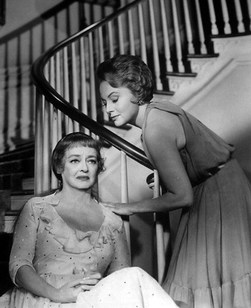 Davis and de Havilland hush