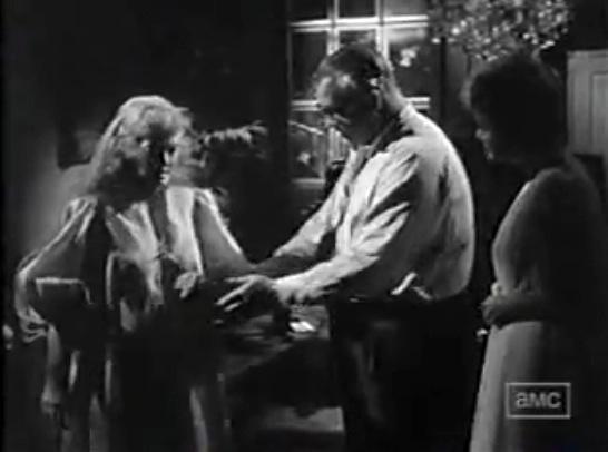 Davis Olivia and Aldrich on set of Hush Hush