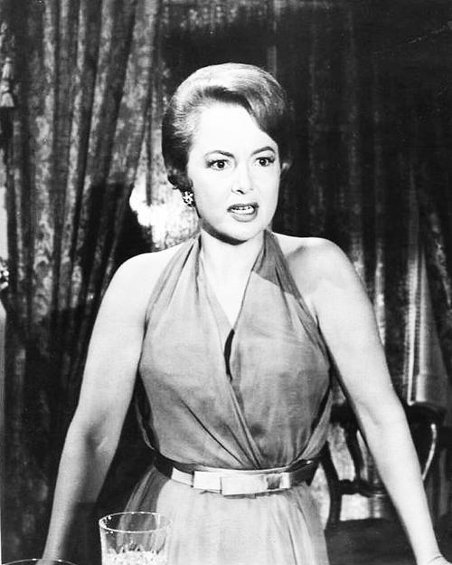deHavilland as Miriam