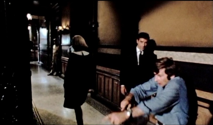 Polanski and Farrow and Cassavetes in hall color