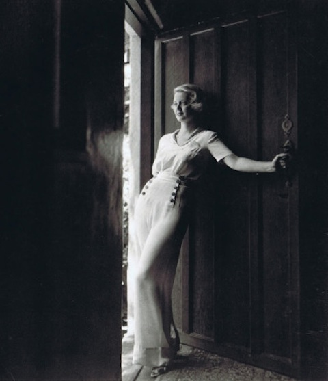 Bette Davis, photographed by Maurice Goldberg in 1935 for Vanity Fair