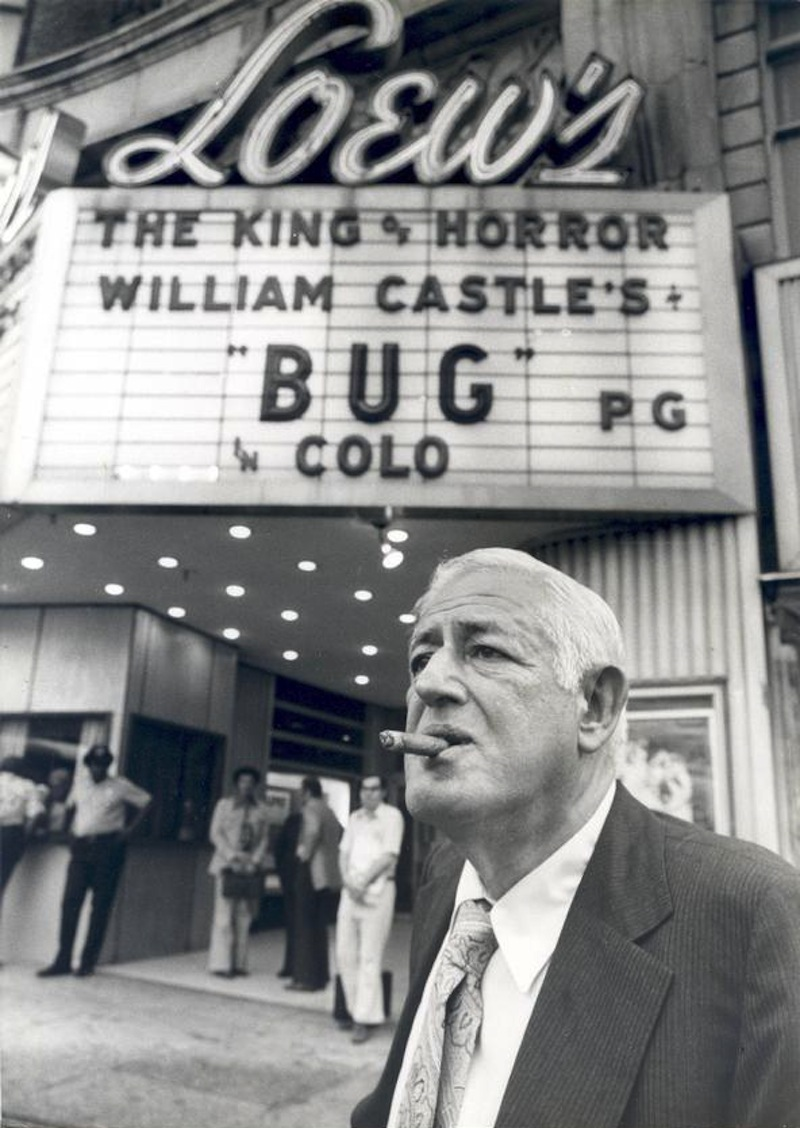 William Castle at Bug