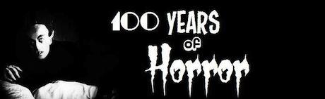 100 Years of Horror Logo