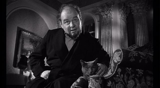 Karswell and his cat