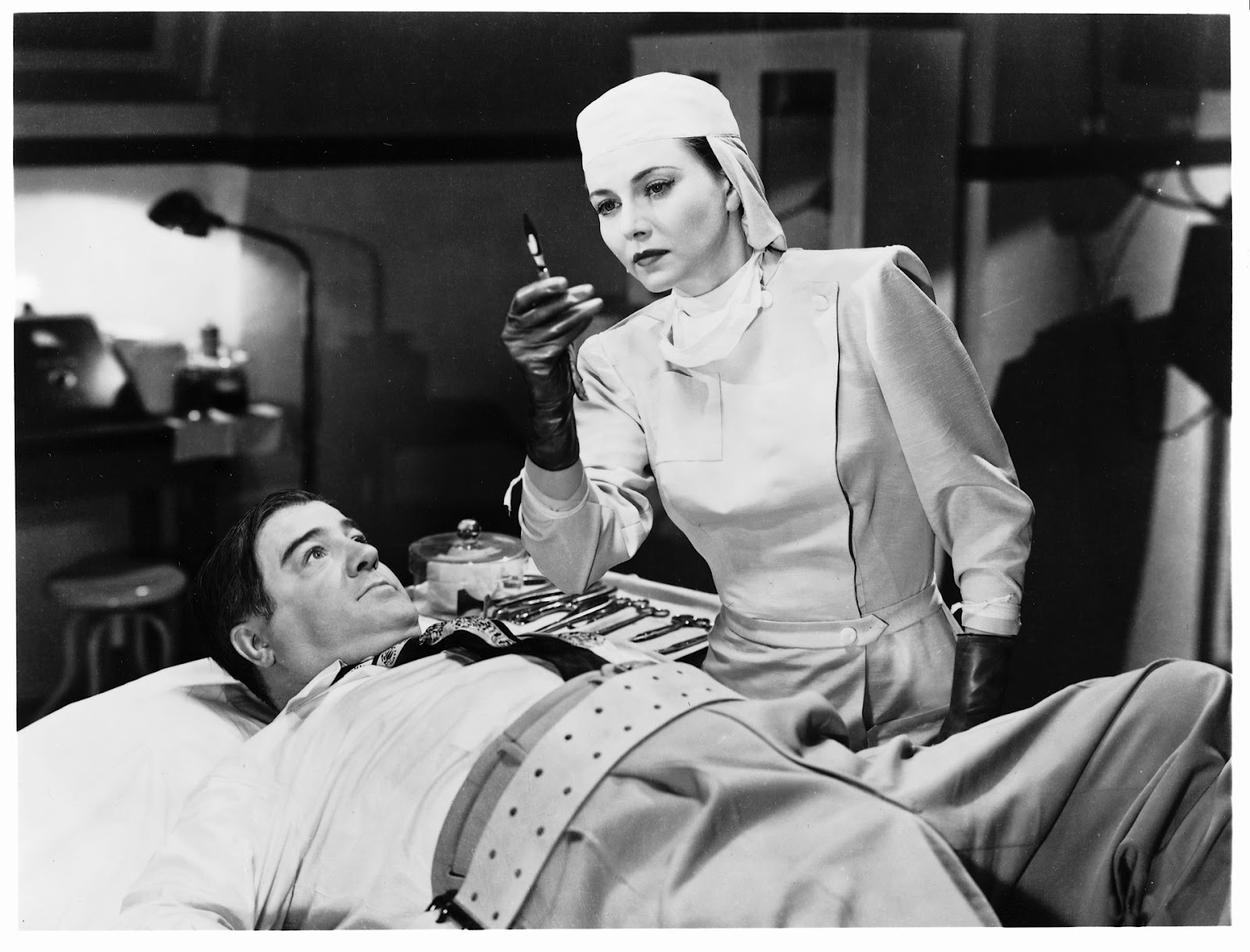 Lenore Aubert A & B Meet Frankenstein