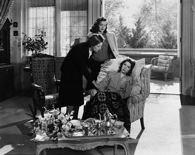 Ella Raines and Fay Helm in Phantom Lady
