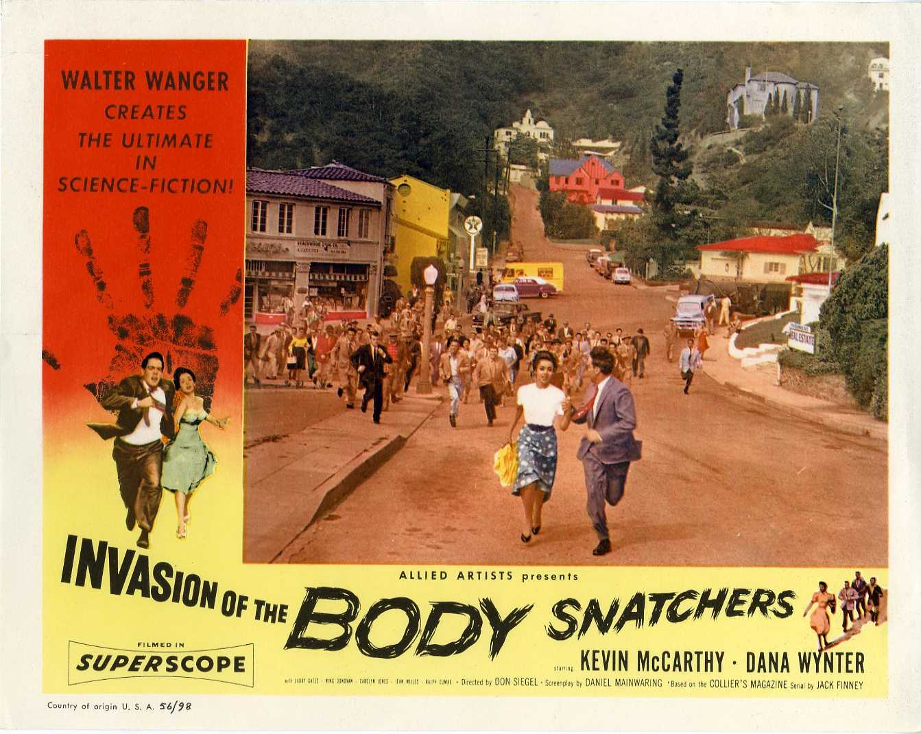 invasion of the body snatchers 56