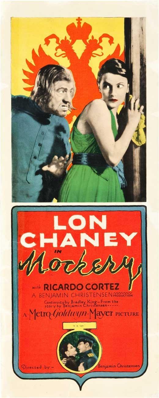 Lon Chaney in Mockery poster