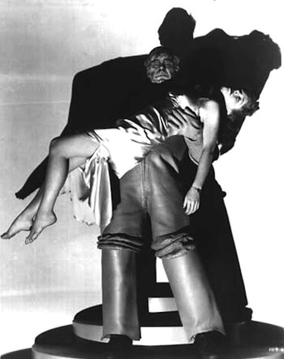 Lon Chaney Jr and Anne Nagel Man Made Monster
