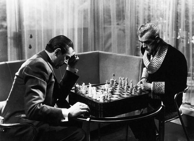 The Black Cat Ulmer Karloff & Lugosi