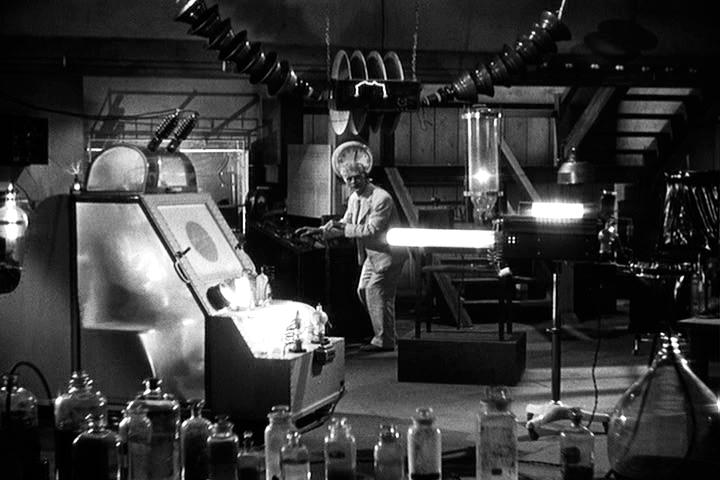 The Man They Could Not Hang Karloff in Lab