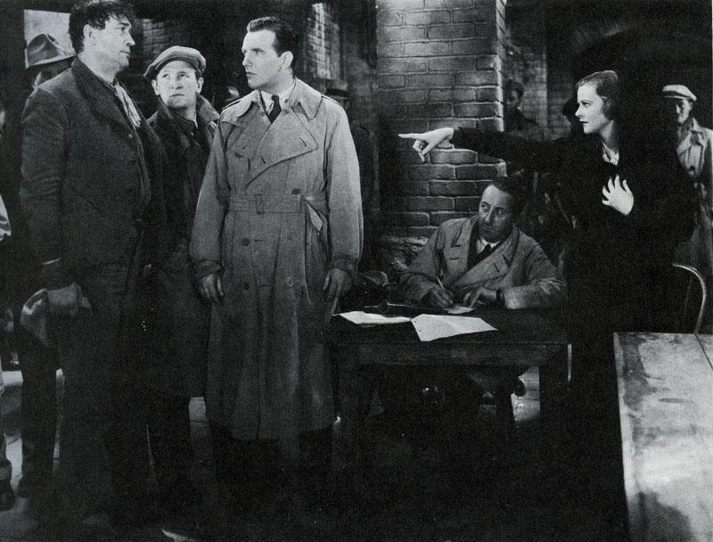 Victor Mclaglen, Joe Sawyer, Preston Foster and Heather Angel The Informer '35