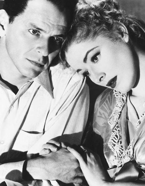 Eleanor Parker and Frank Sinatra