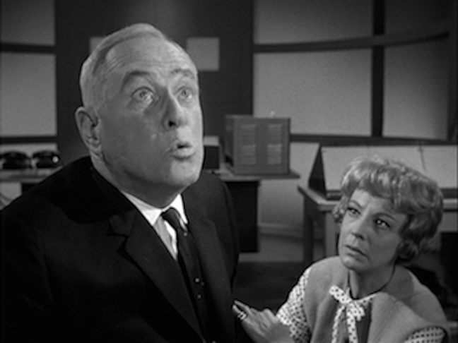 Hasso & George Macready in The Outer LImits