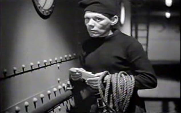 Knaggs as Finn in The Ghost Ship