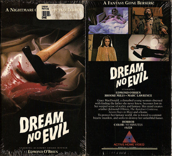 Deam No Evil VHS cover