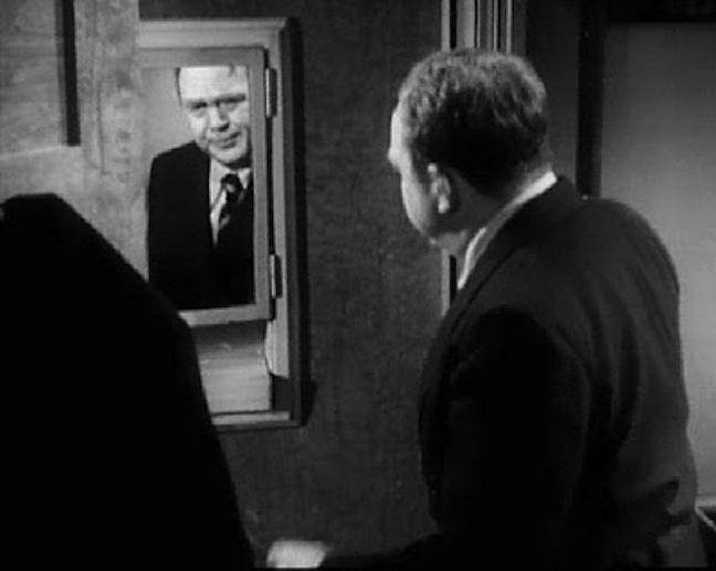 Thomas Mitchell in The Dark Mirror