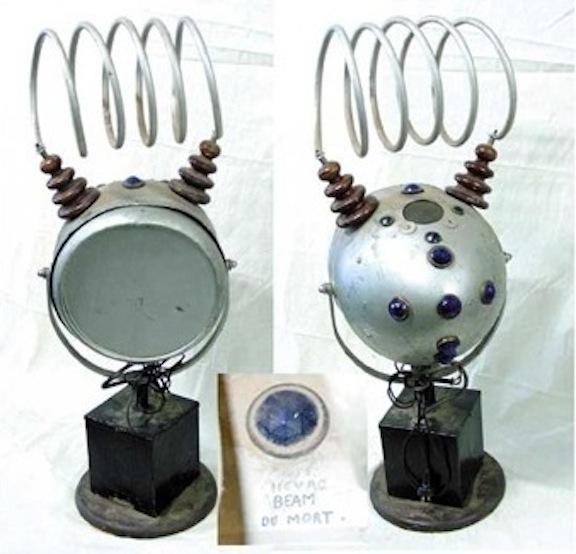 DEATH RAY- apparatus -strickfaden auction