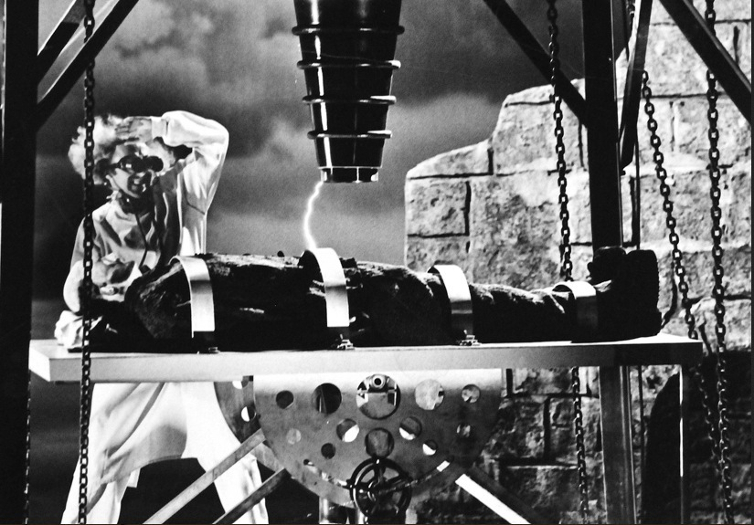Set used on Young Frankenstein