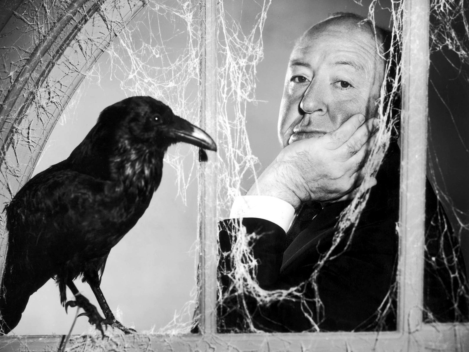 Alfred Hitchcock and Crow
